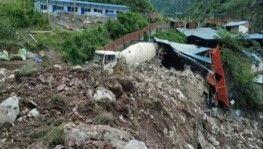 Çin'de heyelan, 17 kişi kayıp