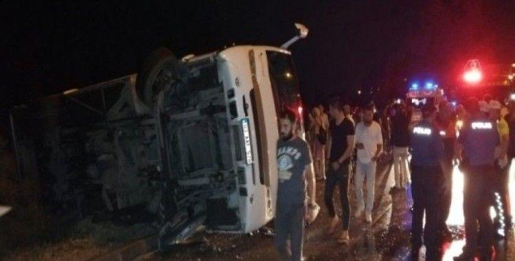 Isparta'da trafik kazası: 10 yaralı