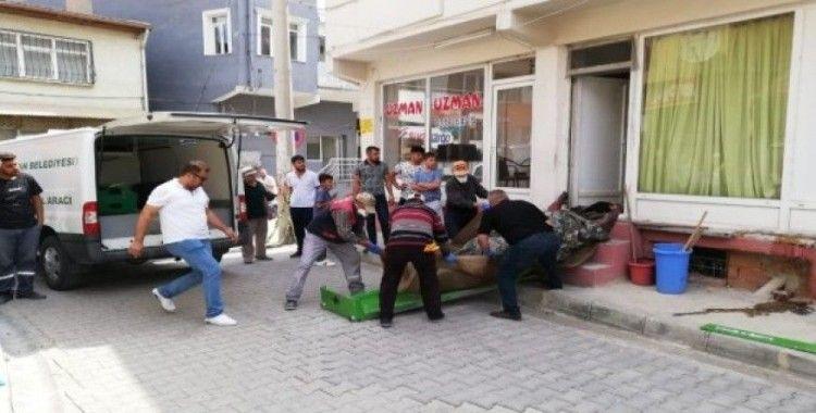 Afyonkarahisar Bolvadin ilçesinde ceset bulundu