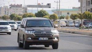 ABD'li askeri heyet ile Türk yetkililer sınırda inceleme yaptı