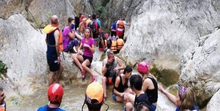 Dünyanın dört bir yanından bu kanyonu görmek için geliyorlar