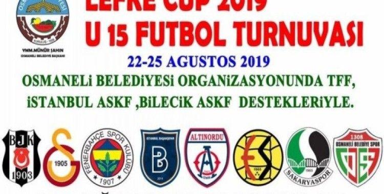 Osmaneli 'Lefke Cup 2019 U15 Turnuvası'na ev sahipliği yapacak