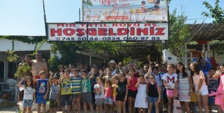 Çiğli Belediyesinden kadın ve çocuklara deniz tatili