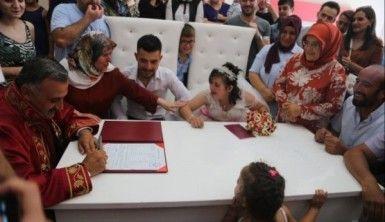 Down sendromlu Rabia'ya damatsız düğün