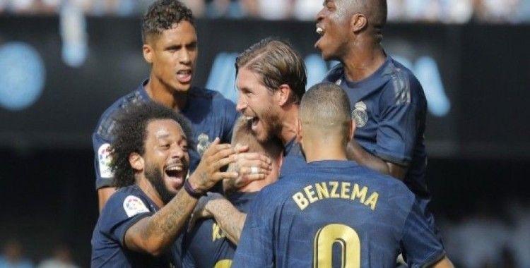Real Madrid ilk maçından 3 puanla ayrıldı
