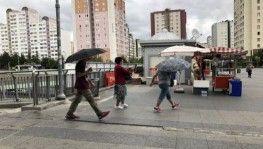 İstanbul'da beklenen sağanak başladı