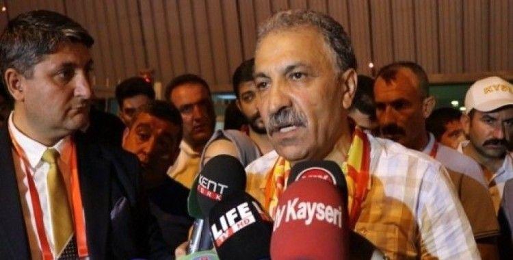 """Kayserispor Başkanı Bedir: """"Birinci maçın birinci dakikasında ne olur hakem konuşmayalım"""""""