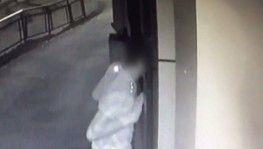Evlere dadanan hırsızlar kamerada