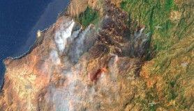 Kanarya Adaları'nda yangın kontrol altına alınıyor