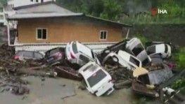 Çin'de şiddetli yağış, 96 kişi köylerde mahsur kaldı