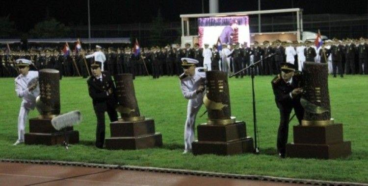Jandarma ve Sahil Güvenlik Akademisi mezuniyet töreni