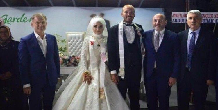 Durgut ve Batur ailelerinin mutlu günü