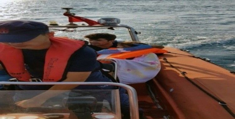 Sahil Güvenlik tıbbi tahliye gerçekleştirdi