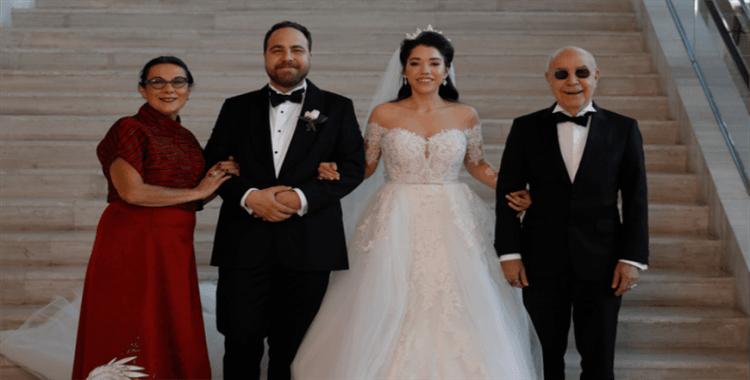 Mazhar Alanson, oğlunu evlendirdi