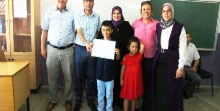Burhaniyeli öğrencilerin Kur'an öğrenme mutluluğu