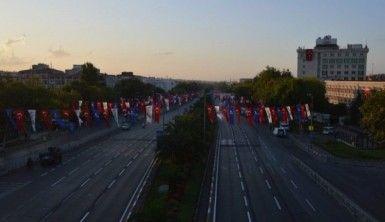 Büyük taarruzun yıl dönümünde Vatan Caddesi trafiğe kapatıldı