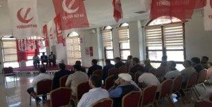 Bozüyük'te Yeniden Refah Partisi 1. olağan ilçe kongresini gerçekleştirdi