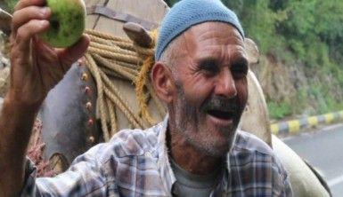 60 yıldır at üstünde elma satıyor
