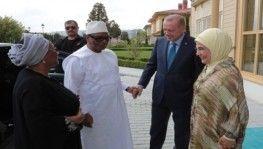 Cumhurbaşkanı Erdoğan Mali Cumhurbaşkanı Keita ile görüştü