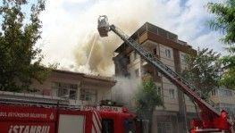Eskicide çıkan yangın 3 binaya sıçradı