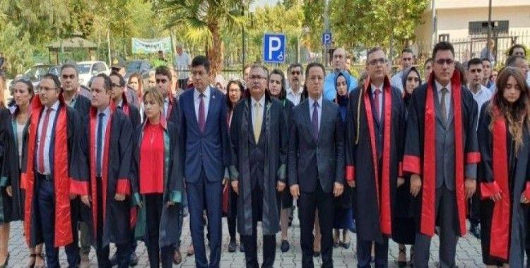Nazilli'de yeni adli yıl törenle başladı