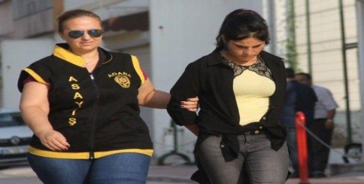 Genç kız yaşının 3 katı hırsızlık yaptı