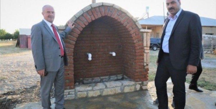 Tuşba Belediyesi'nden 'Eyvanlı' çeşme projesi