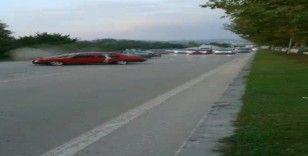 Drift atan sürücülere 5 bin lira ceza