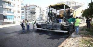Merkezefendi'de 13 mahallede 11 bin ton asfalt çalışması yapıldı
