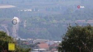 Hizbullah, vurduğu İsrail askeri aracının görüntülerini yayınladı