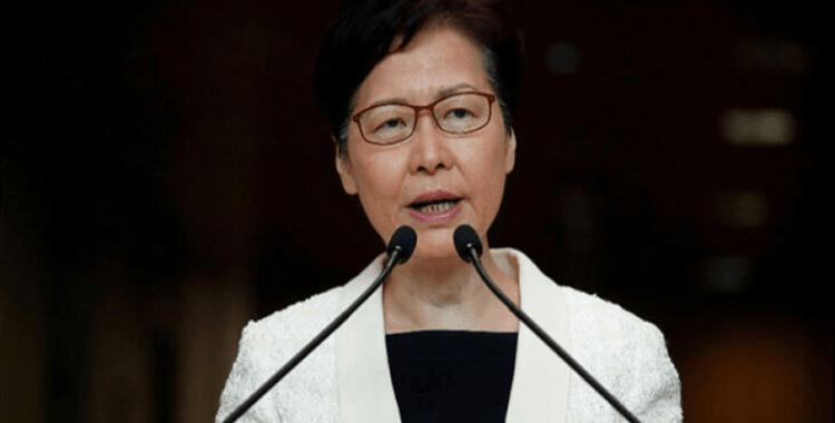 """Hong Kong Lideri Lam: """"Çin'e istifamı hiçbir zaman sunmadım"""""""