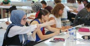 KBÜ'de özel yetenek sınavları başladı
