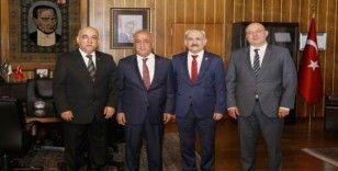 Erzurum Adli Tıp Kurum Başkanlığına Atatürk Üniversitesi desteği
