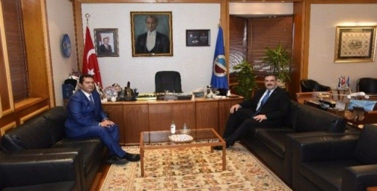 Eskişehir Cumhuriyet Başsavcısı İrcal, Rektör Çomaklı'yı ziyaret etti