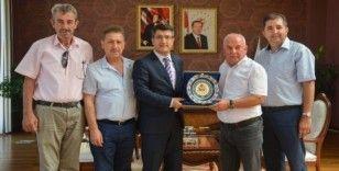 ASKF'dan Rektör Taş'a ziyaret