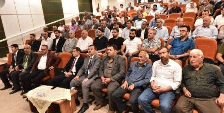 Ahlat'ta kırsal kalkınma yatırımlarının desteklenmesi toplantısı