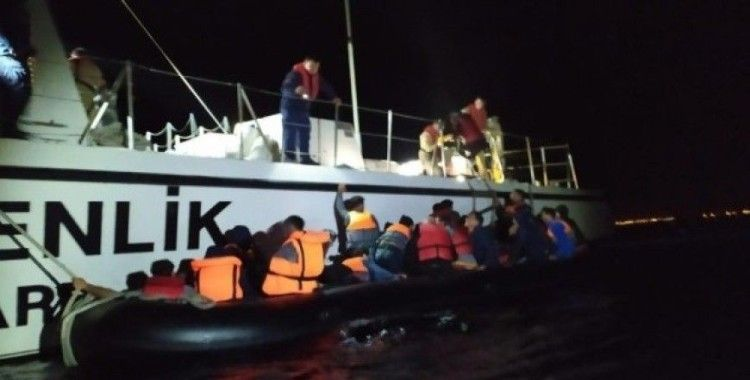Edirne açıklarında 31 düzensiz göçmen yakalandı