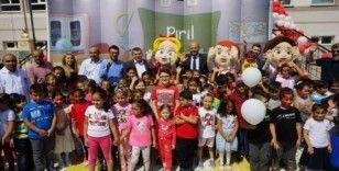 Nevşehir'de çocuklar yeni eğitim öğretim yılına Pırıl'la başladı