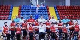 Tekerlekli Sandalye Milli Basketbol Takımı, çeyrek finalde