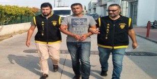 Cezaevinden firar eden hırsız infaz dedektiflerinden kaçamadı