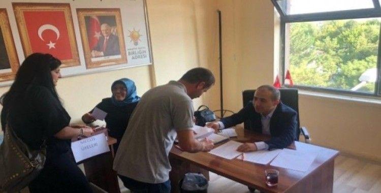 AK Parti Avanos ilçe başkanlığında temayül yoklaması yapıldı