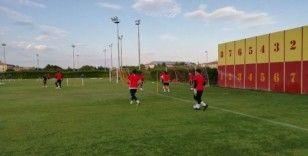 Kayserispor hazırlık maçı çalışmalarını sürdürüyor