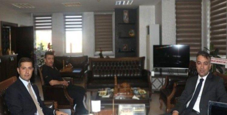 Vali Çağatay'dan Ahlat Kaymakamı Erat'a 'hayırlı olsun' ziyareti