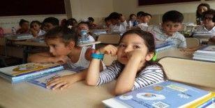 Ankara'da minikler ilk kez sıralara oturdu