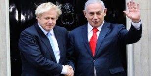 İsrail Başbakanı Netanyahu, İngiltere Başbakanı Johnson ile İran'ı görüştü