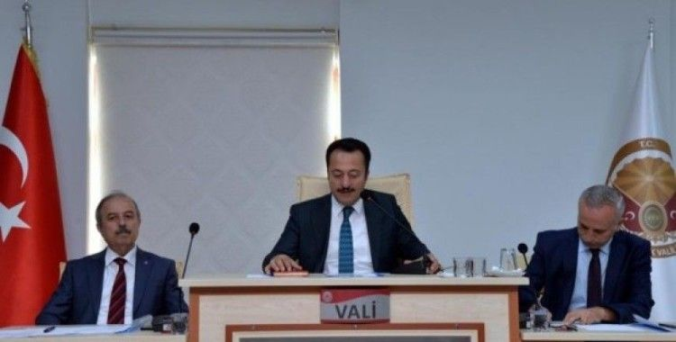 Bilecik'te ''Okul güvenliği ve Koordinasyon'' toplantısı