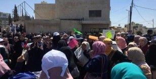Ürdün'de öğretmenlerden protesto