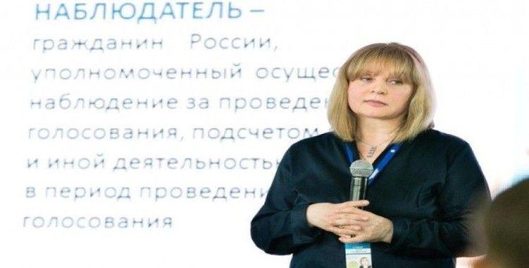 Rusya Merkez Seçim Komisyonu Başkanı Pamfilova'ya evinde saldırı