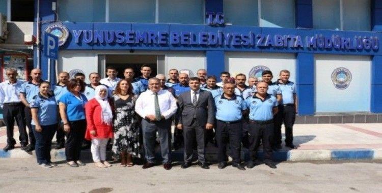 Başkan Çerçi'den Zabıta Teşkilatına ziyaret