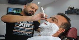Eşine ender rastlanan satırlı sakal tıraşı